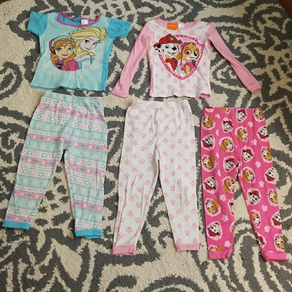 9144a80979 5 piece PJ sets from target 4T
